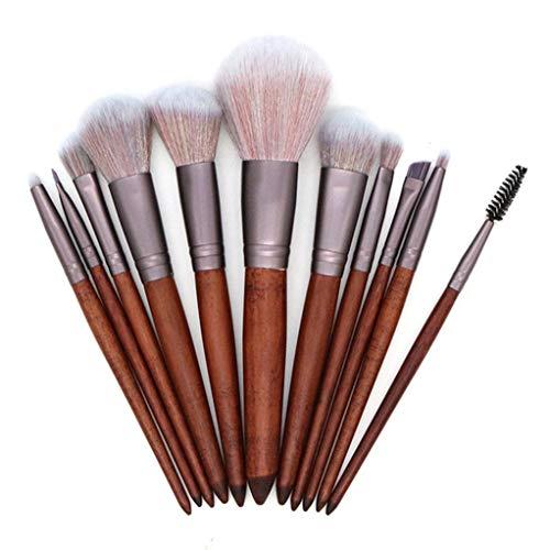 Pinceaux pour le maquillage Pinceaux Teint Ombre à Paupières Fond de Teint Maquillage
