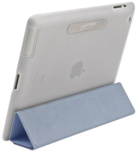 Devicewear Union Shell Schutzhülle für iPad 2/3 / 4, mit Magnetverschluss, für Öffnen farblos Color