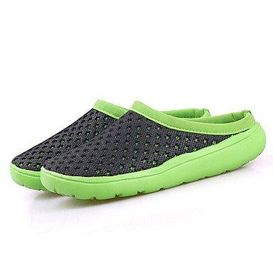 Los hombres sandalias Primavera Verano Luz Soles Tulle Piscina Casual Zapatos de talón plano US6-6.5 / EU38 / UK5-5.5 / CN38