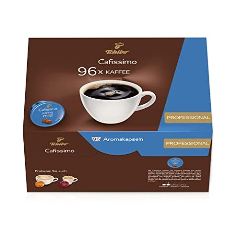 Tchibo Cafissimo 96er Kapseln Filterkaffee mild, Vorrats Box