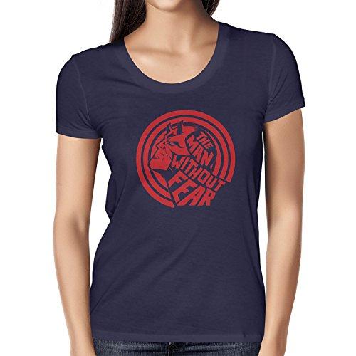 TEXLAB - Devil without Fear - Damen T-Shirt, Größe L, (Frauen Kostüm Für Daredevil)