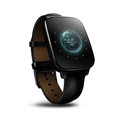 Zeblaze Kristall Curved 1.54Inch HRM Herzfrequenzmonitor MTK2502 Bluetooth IP65 Smartwatch