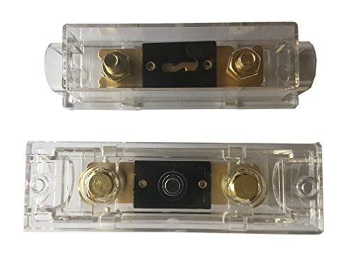 heschen ANL Fusible anl-30/30/Amp para coche veh/ículos sistema de audio hoja dorado /& negro 2/unidades