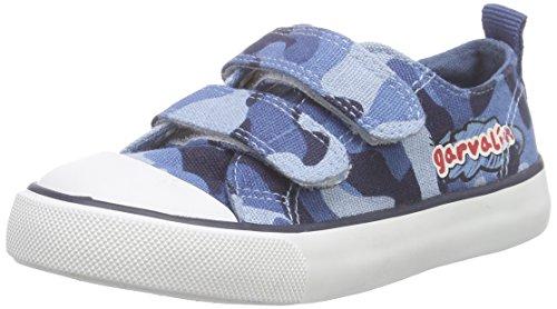 Garvalín 162375 - Sneaker  Bambini E Ragazzi, Blu (AZUL ESTAMPADO MILITAR), 24