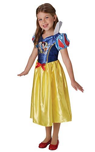Rubie's Offizielles Disney Prinzessin Pailletten Schneewittchen Klassisches Kostüm für Kinder