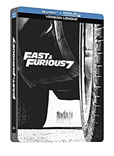 Fast and Furious 7 (Blu Ray+ Digital HD Ultraviolet) [Blu-ray + Copie digitale - Édition boîtier SteelBook] (B00RTG7AAG) | Amazon price tracker / tracking, Amazon price history charts, Amazon price watches, Amazon price drop alerts