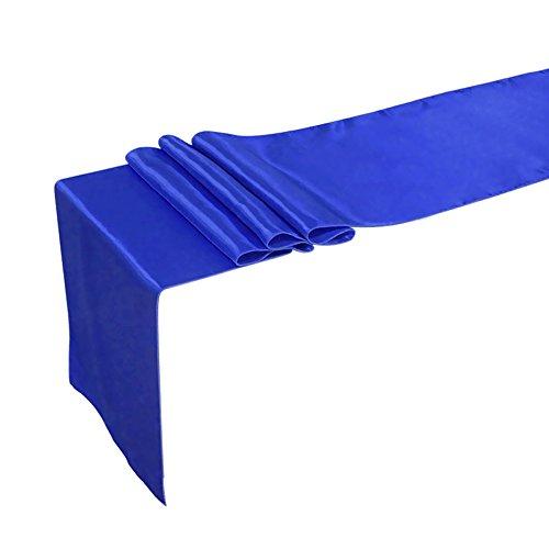 äufer Tischwäsche Tischband Tischdecke Hochzeit Deko 30x275cm/12x108inch (Royal Blau) ()