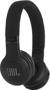 JBL E45BT On-Ear Bluetooth Kopfhörer, Stoff-Kopfbügel - Schwarz
