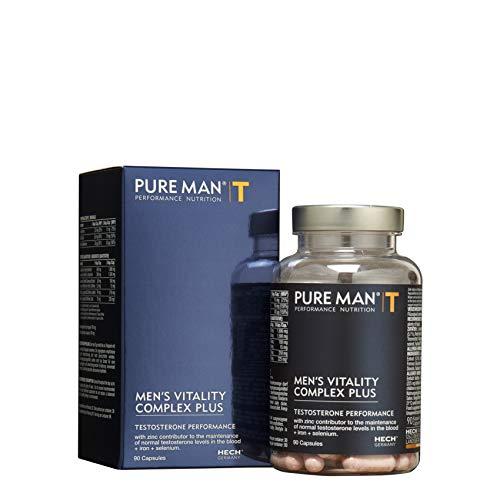 PURE MAN® MEN'S VITALITY COMPLEX PLUS mit Mineralien, vegan, 90 Kapseln
