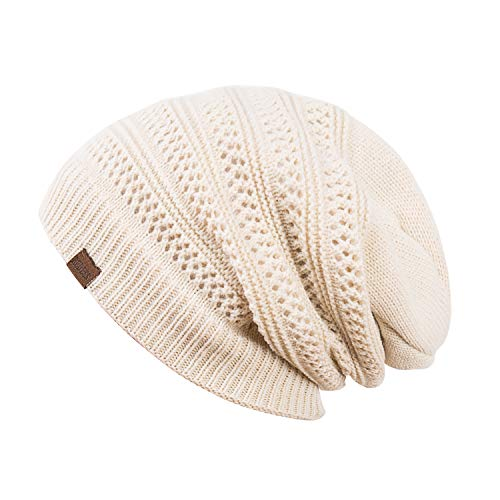 aa5ce5fbf91 REDESS Slouchy Long Oversized Beanie Hat for Women and Men