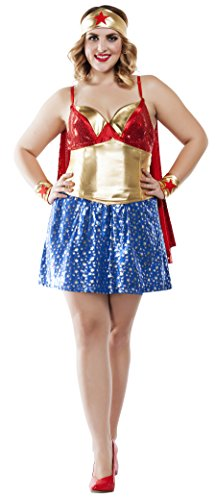 Womens Woman Plus Size Fancy dress costume 2X