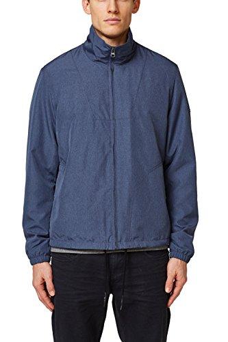 ESPRIT Herren 038EE2G018 Jacke, Blau (Navy 400), Large