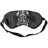 Sleep Eye Mask Pirate Skull Artwork Lightweight Soft Blindfold Adjustable Head Strap Eyeshade Travel Eyepatch E5 preisvergleich bei billige-tabletten.eu