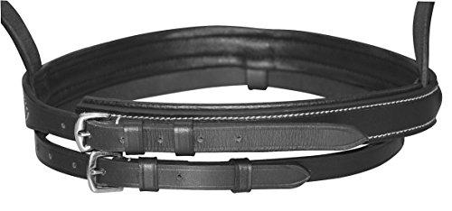 Kerbl Trensen-Zaum Standard Leder für Shetty, Schwarz, 321713