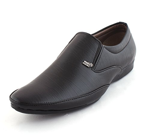 Alestino Men's Leather Looks Formal Shoes (44 UK) FDS26BLACK