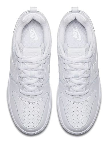 Nike Court Borough Low, Scarpe da Basket Uomo Bianco