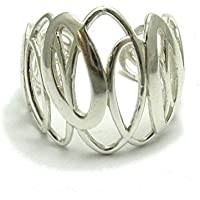 Elegante anello da Donna in Argento 925 misura regolabile R001641