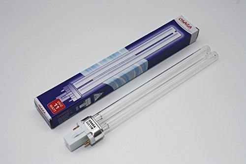 UVC Lampe 11 W - UV-C Leuchte Ersatzlampe (Garten-oase Sockel)