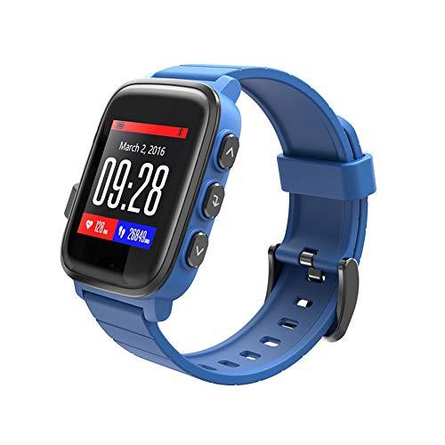 YUNYIN Bluetooth Intelligente Orologio, IP68 Impermeabile Fitness Tracker Orologio e cardiofrequenzimetro pedometro Monitor Sonno Messaggio Push, iOS Android