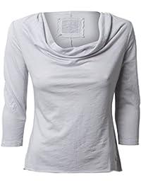 Shirt mit 3/4-Arm - SILBER Better Rich
