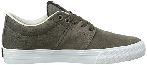 Supra Stacks Vulc Ii, Sneakers Basses mixte adulte Gris (MOREL - WHITE MOR)