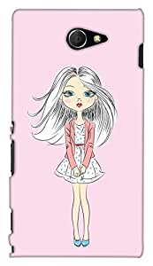 PrintHaat Back Case Cover for Sony Xperia M2 Dual D2302::Sony Xperia M2
