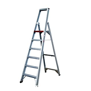 Altrex 0000490Aluminium Ladder for Industrial Use, Step Width, Number of Steps: 1x 8