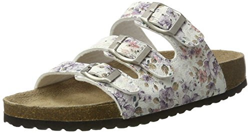 Softwaves 274 383, Mules Femme Weiß (TAUPE)