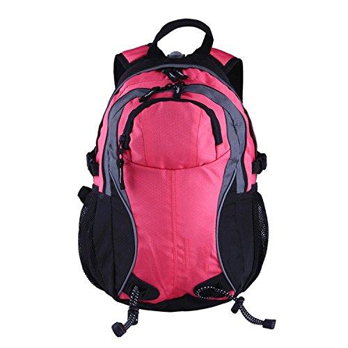 indossano impermeabili respirabile ripstop indietro cuscino outdoor alpinismo borsa. ( colore : Nero ) Rosa