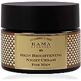 Kama Ayurveda Skin Brightening Night Cream for Men, 50g
