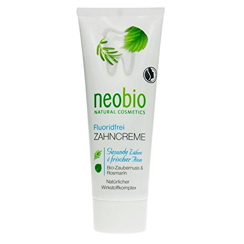 neobio Zahncreme ohne Fluorid (75 ml)