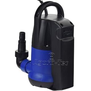 Agora-Tec® AT- Tauchpumpe clear water 250 mit integrierten Schwimmerschalter und max: 0,6 bar und max: 6000l/h