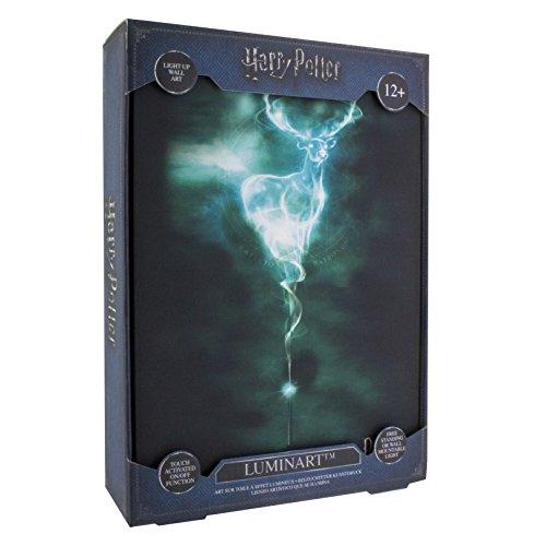41bQTs2i0fL - Paladone Luminart lampara Patronus Harry Potter, Multicolor