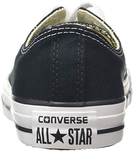 CONVERSE Chuck Taylor All Star Seasonal Ox, Unisex-Erwachsene Sneakers, Schwarz (Black), 39 EU - 2