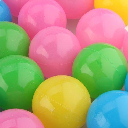 FACILLA-50-x-55cm-Balles-Boules-Plastique-PE-Multicolore-Jeu-Piscine-Tente-Enfants-Bb