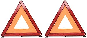 Carpriss 70113904 Round Leg Warning Triangle  (2 Pieces)