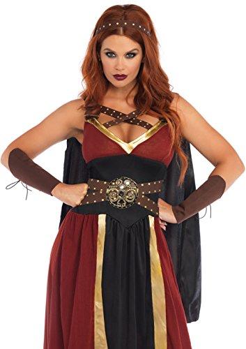 Leg Avenue 85437X - Regal Krieger Kostüm, Größe 3X-4X (EUR 48-50) (Frau Plus Halloween Size Kostüme)