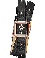 Diesel Damen-Armbanduhr Ursula Analog Quarz Leder DZ5480
