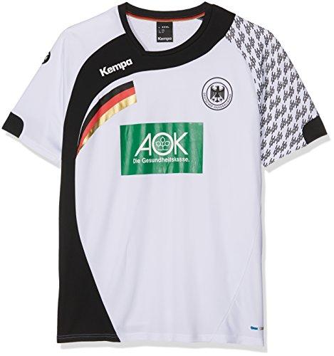 Kempa DHB Home T-Shirt Set, Herren, Herren, DHB Home, weiß/schwarz