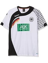 Kempa DHB Home Camiseta de Juego, Hombre, Blanco / Negro, 116