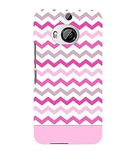 Chevron Girl Cross Design 3D Hard Polycarbonate Designer Back Case Cover for HTC One M9+ :: HTC One M9 Plus