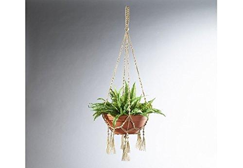 Blumenampel aus Jute Länge 120 cm