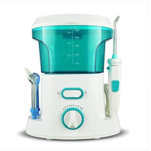 ZWW Munddusche Dental Munddusche Oral Wasserreiniger, Professionell Wasserdicht Zahnpflege Zahnreinigung Wasserstrahl für Familie Haushaltnutzen mit , blue
