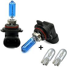 INION® Set–2x Unidades hir255W 901212V xenón px22d fría Color Blanca Lámpara halógena incluida la bombilla + 2x Unidades T10Casquillo de cristal lámpara auto lámpara