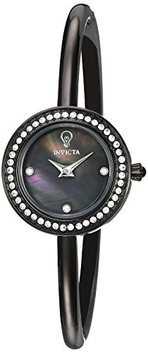 Invicta Women's 'Gabrielle Union' Quartz Stainless Steel Casual Watch, Color:Black (Model: 23265)