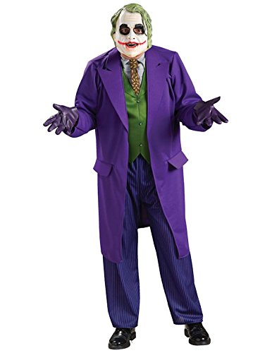 Generique Offizielles Joker-Kostüm Dark Night für Erwachsene M (Dark Night Batman Kostüm)