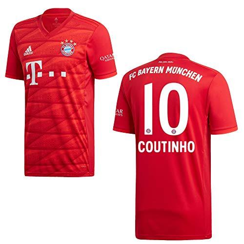 Sportiger Bayern Trikot Home Kinder 2020 - Coutinho 10, Größe:128