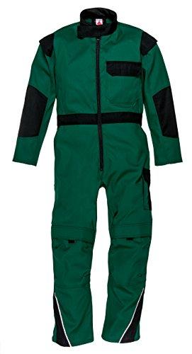 Works Kinderoverall 100% Baumwolle in grün-blau 2765/1 in Größe 140