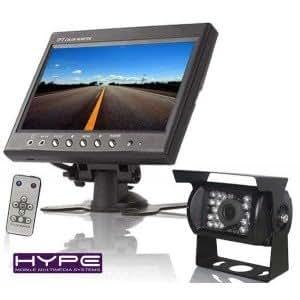 hype hvpackca9880 ecran tft lcd 16cm camping car camera de recul high tech. Black Bedroom Furniture Sets. Home Design Ideas