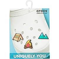 Crocs Outdoor Adventure 3 Pack Shoe Decoration Charms, Multicolour (-), One Size
